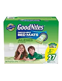 Goodnites Disposable Bed Mats - 27 Pk. BOBEBE Online Baby Store From New York to Miami and Los Angeles