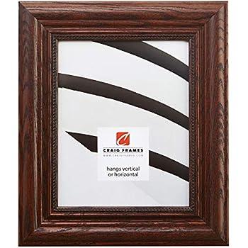 Craig Frames 15177483150 20 by 24-Inch Picture Frame, Solid Wood, 2.25-Inch Wide, Dark Walnut
