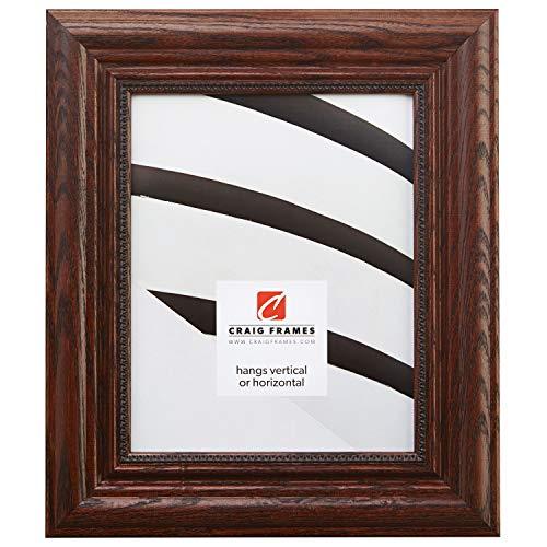 Craig Frames 15177483150 20 by 24-Inch Picture Frame, Solid Wood, 2.25-Inch Wide, Dark Walnut -
