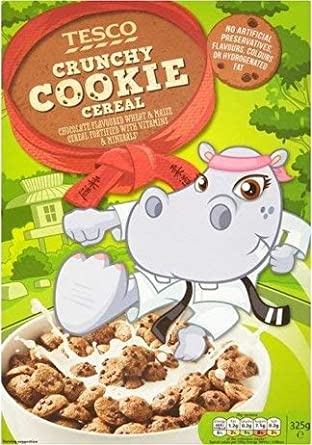 Tesco Crunchy Cookie Cereal, 325g: Amazon in: Grocery