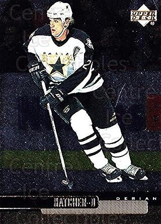 f331d6f43 (CI) Derian Hatcher Hockey Card 1999-00 Upper Deck Gold Reserve 46 Derian