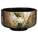 Japanese Matcha Bowl Gold Leaf Kutani Yaki(ware)