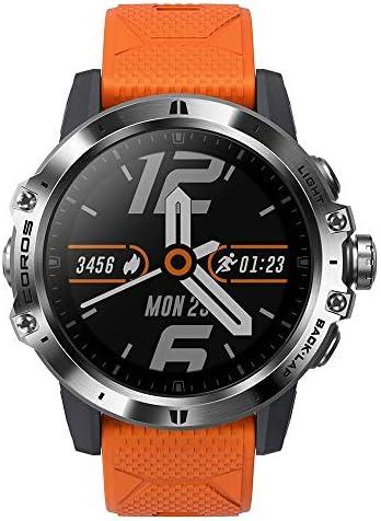 Reloj Multiaventura COROS VERTIX GPS, esfera de titanio y cristal de zafiro, navegación, monitoreo oxígeno en sangre 24/7, entrenador, botón digital y ...