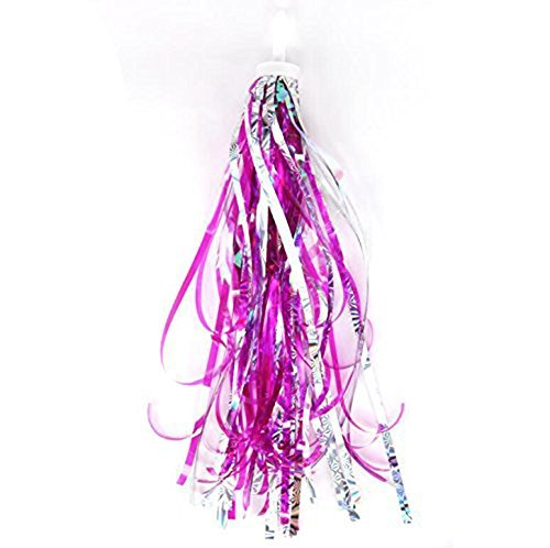 HugeStore Kids Bicycle Bike Handlebar Scooter Streamers Sparkle Tassel Ribbon for Girls Boys Hot ()