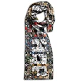 Hip Hop Unisex Double Side Printing Fashion Scarves 71''10''