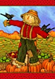 Friendly Scarecrow – 28 Inch X 40 Inch Large Decorative Flag