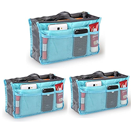 af1521da46c6 THE #1 Rated Go Beyond (TM) Travel Insert Organizer Compartment Bag ...
