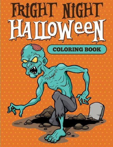 Fright Night: Halloween Coloring Book