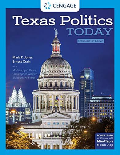 Texas Politics Today, Enhanced Mindtap Course List: Amazon