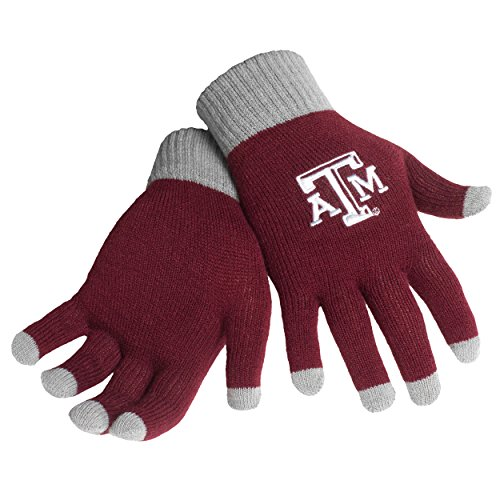 Texas A&M Solid Knit Glove ()