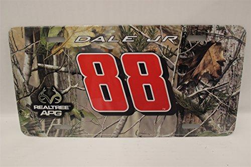 Dale Earnhardt Jr. Realtree Camo Metal License - Driving Earnhardt Jr Dale