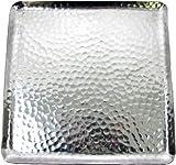 Hammered Aluminum Square Tray