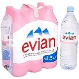 Evian Eau minérale plate 6 x 1,5 l