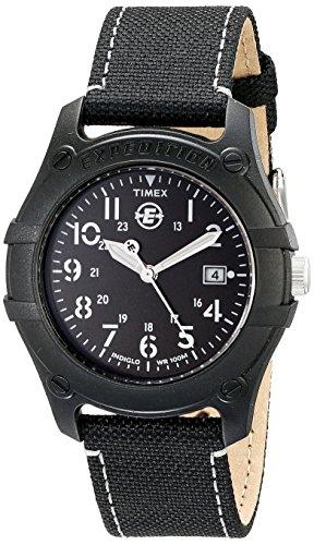 Timex Men's T49689 Expedition Camper Black Nylon Strap Watch