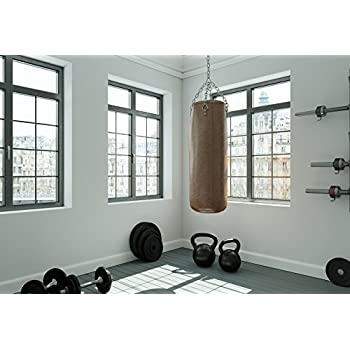 OFILA Gym Backdrop 5x3ft Dumbbell Sports Equipment Photos Physical Exercise Club Background Gymnasium Coach Vintage Brick Wall Health Exercise Shoots Video ...