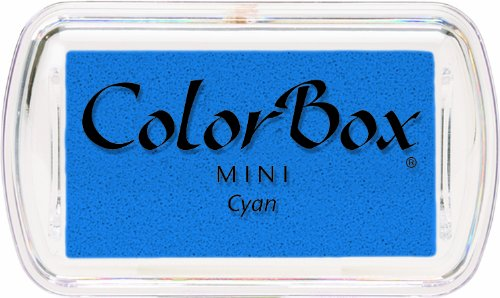 CLEARSNAP Colorbox Mini Pigment Inkpad, Cyan