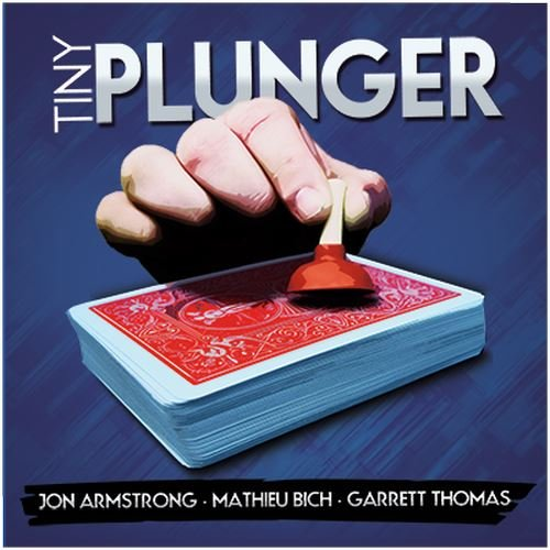 MMS Tiny Plunger by Jon Armstrong, Mathieu Bich and Garrett Thomas DVD and Gimmick