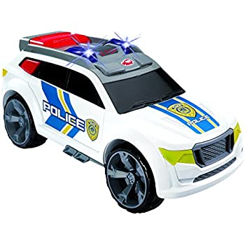 Amazon.com: Dickie Toys Light and Sound Police Car Vehicle ...