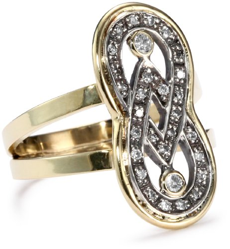 Moritz-Glik-Kaleidoscope-18K-Gold-and-Pave-Diamond-Infinity-Ring-Size-7