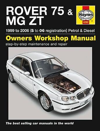 rover 75 repair manual haynes manual service manual workshop manual rh amazon co uk rover 75 diesel service manual download Rover 75 V8