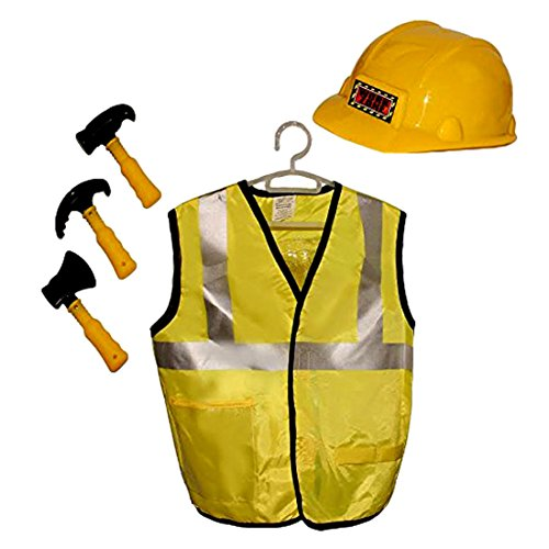 Toy Cubby Construction Worker Role Play Dress Up