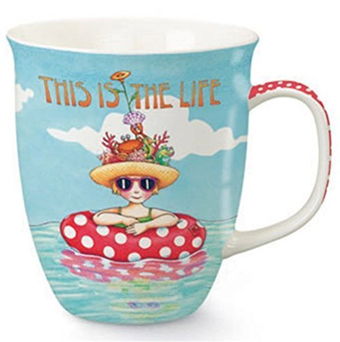 Mary Englebreit This Is the Life Coffee or Tea Ceramic Mug