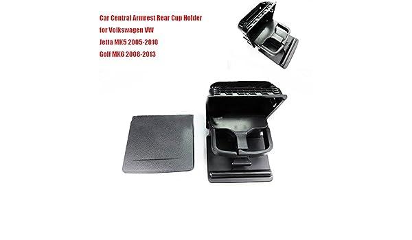 szss-car coche apoyabrazos central trasero taza caja de soporte para bebidas negro: Amazon.es: Coche y moto
