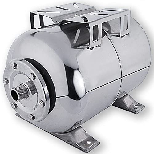 24L Edelstahl Membrankessel Hauswasserwerk Ausdehnungsgef/ä/ß 24Liter Druckkessel