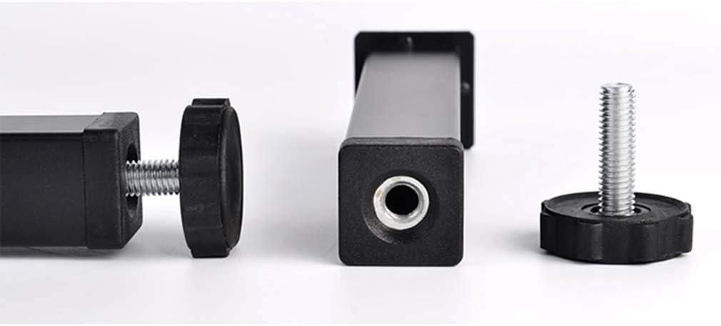 Table legs 4 Pieds de Support de Pied de Meuble r/églables 15-35 cm Pied de lit Pied de lit