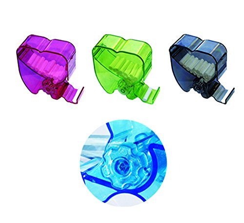 SDent USA FDA & TUV CE 1PC Patent Clear Transparent Cotton Roll Dispenser Color Randomly
