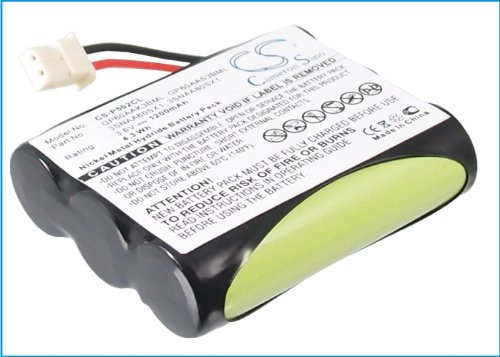 TechGicoo 1200mAh/4.3Wh Replacement Battery for RADIO SHACK CLT2430
