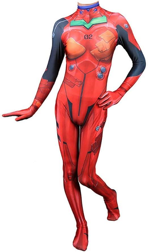 CHXY Evangelion NiñO Adulto Ropa Cosplay Vestido Halloween Navidad ...