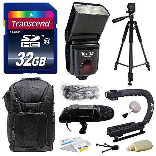 Ultimate Accessories Bundle Kit includes Transcend 32GB Clas