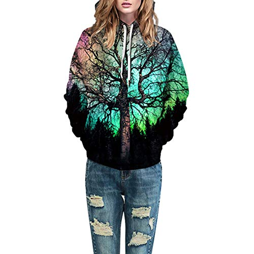 Photno Womens Hooded Sweatshirts, Pullover Hoodies Winter 3D Print Tops Shirt Blouse Coat Outwear by Photno (Image #5)