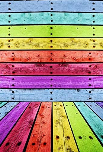 Multicolor Wooden Solid Wall Self Portrait Wedding Baby Photography Background Custom Photography Studio Photography Background