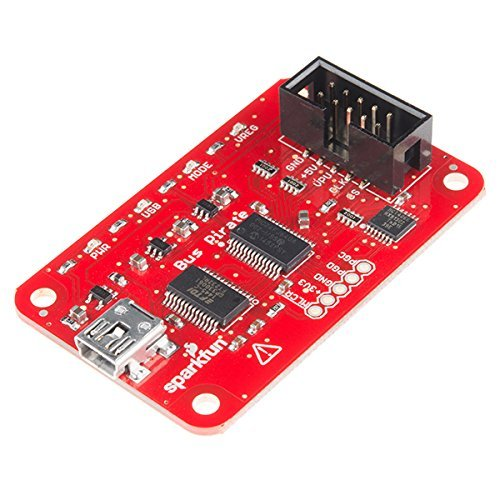 SparkFun (PID 12942) Bus Pirate - v3.6a with cable (Data Generator Pulse)