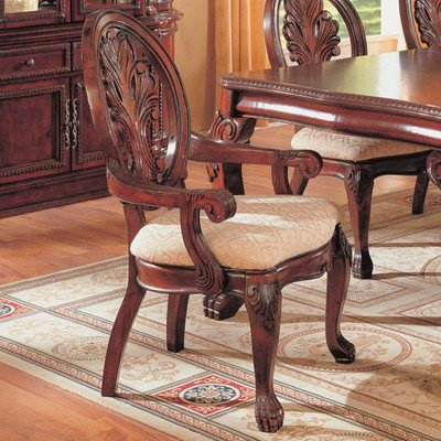 Fenland Arm Chair in Deep Rich Cherry [Set of 2]