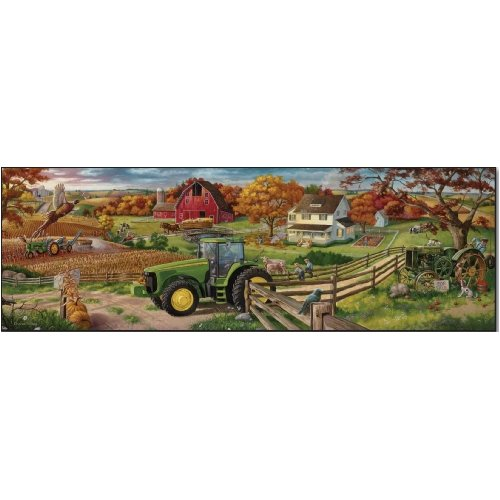 Great American Puzzle Factory John Deere 100 Years of Farming 500 Piece puzzle