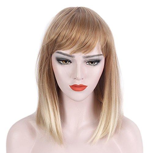 Expert choice for blunt bob wig bangs