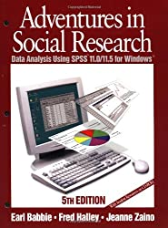 Adventures in Social Research: Data Analysis Using SPSS 11.0/11.5 for Windows (Undergraduate Research Methods & Statistics in the Social Sciences)