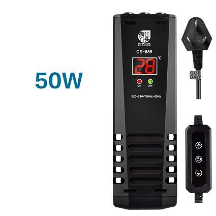 lingyun Acuario Inteligente de calefacción de conversión de frecuencia automática termostato de Buceo Tanque de Peces