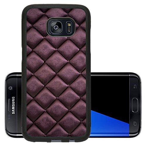 Luxlady Premium Samsung Galaxy S7 Edge Aluminum Backplate Bumper Snap Case IMAGE 33925218 close up of silk burgundy sofa