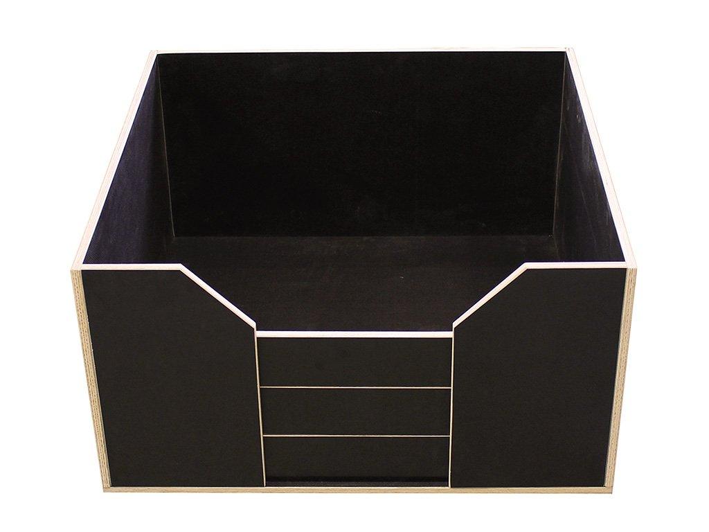 Easy-Hopper Wurfbox / Welpenbox / Schlafplatz Komfort 80x80cm