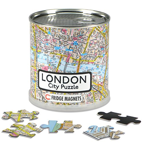 Geotoys 100 Piece Magnetic Puzzle  London
