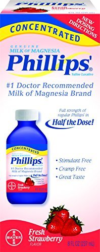 Phillips Concentrated Milk of Magnesia Fresh Strawberry, 8fl.oz by Phillips