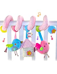 SKK Baby Plush Spiral Activity Toy Crib Stroller Car Seat Travel Toy Bird BOBEBE Online Baby Store From New York to Miami and Los Angeles