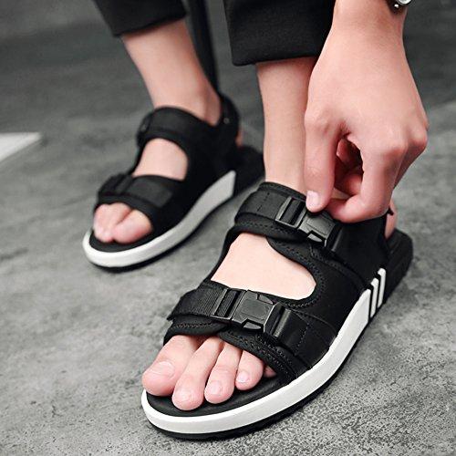 Sunrolan Män Kvinnor Unisex Par Tillfälliga Utomhus Vatten Andas Sportsport Skor Style2-svart
