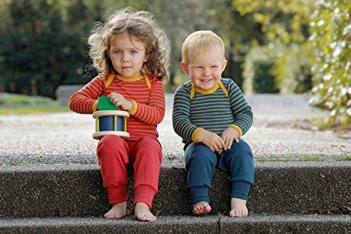 Engel 100% Organic Merino Virgin Wool Baby Pants Machine Washable (86/92 (12-24 mo), Hibiscus)