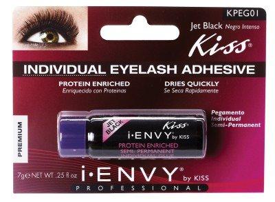 Individual Eyelash Adhesive - Kiss I Envy Individual Eyelash Adhesive Jet Black 01