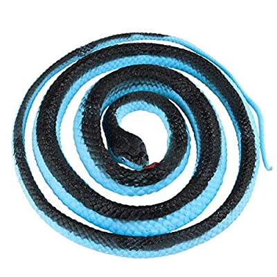 Fake Realistic Looking 48 Inch Curled Up Rubber Blue Malaysian Coral Snake: Everything Else